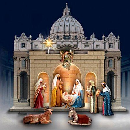 Nativity: St. Peter's Square Nativity Set
